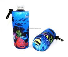 OEM Promotional plastic cooler Neoprene water bottle Cooler