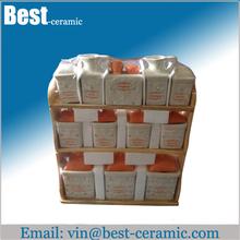 ceramic oil vinegar cruet set salt and pepper cruet
