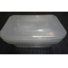5pcs set 750ml disposable food storage shrink packaging