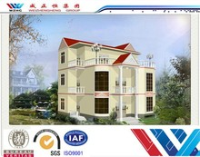 low cost 100m2 house plans prefabricated villa,prefabricated house