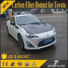 TS Style Carbon Fiber Bonnet for Toyota 86 FRS GT86 FT86 /for Subaru BRZ