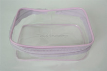 pvc cosmetic bag cheapest wholesales high quality manufacturer of pvc clear pvc bag with zipper