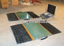 Table thin, light weight portable axle scale of China
