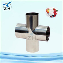 stainless steel cross din standard pipe fitting hdpe pipe fitting dimensions