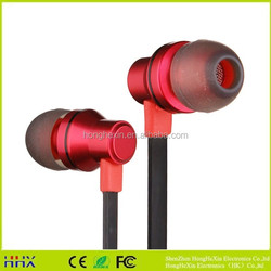 originality compiling wire new design colorful promotional earphone