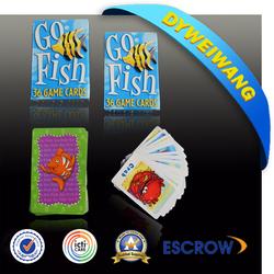 Hot sale plastic game cards case pieces