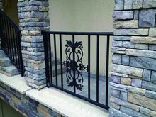 Gavanized Aluminum Colorful Balcony Porch and Walkway Railing