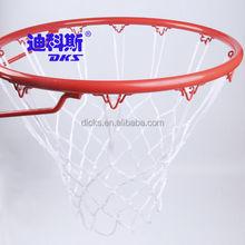 12 Hooks White PP Basketball Nets