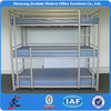 2015 high quality 3 layers iron bed metal steel 3 tier bunk beds for sale