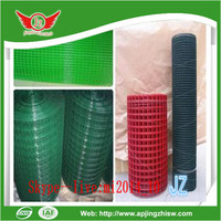 Galvanized plastic coated stainless steel Welded Wire Mesh for fence