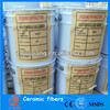 Refractory ceramic fiber binder for insulation material