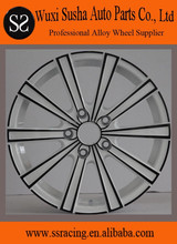 """16""""17""""18"""" white with black aftermarket aluminum alloy car wheel"""