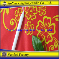 No Smoking No Dripping Taper candle Pillar candle White Candle