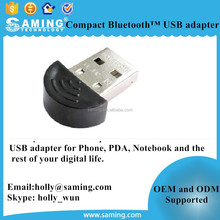 Compact Bluetooth USB adapter/ compact Bluetooth Wireless USB adapter for iPhone, PDA, Notebook and other digital devices