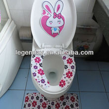 Reusable waterproof hot sale Silicone Toilet Seat Cover