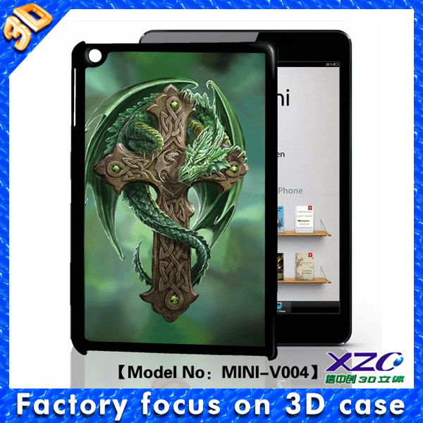 new 3D flip case for ipad air with 3D image in Guangzhou