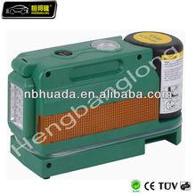 TRK-2010 air pump with tire sealant