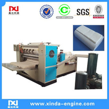 full automatic processing machine v folding paper hand towel machine v fold tissue AS288