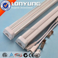 UL AC100-277V 2ft-8ft 8w-60w best red tube japan t5 T5 LED Integrative Double Tube
