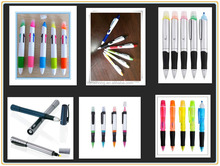 4 colors ball pen and one highlighter CH-6231-plastic 5 in1 highlighter ball pen,promotion highlighter