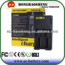 i2 intercore battery charger and intelly charger i2 intercore battery charger for AA/AAA/18650/18350/26650 BATTERY