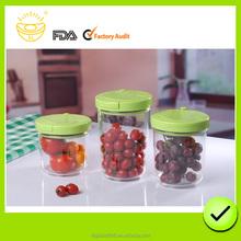 glass vacuum food storage container