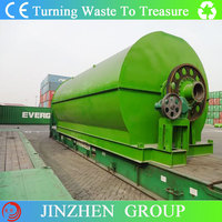 Energy saving Used tyre recycling equipment from JINZHEN
