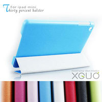 blue color book thirty percent holster leather case for ipad mini