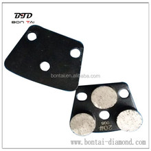 metal bond diamond abrasive grinding pad for grinding machine