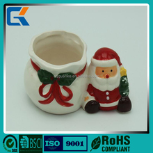 Best price promotional Christmas gift 3D animal shaped ceramic gift cups