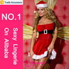 Wholesale 2015 red tube sex women party dress or christmas sexy lingerie