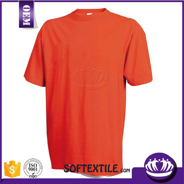 best quality custom 100 organic cotton blank t shirts