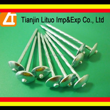 High quality galvanized roofing nails/umbrella roofing nails/umbrella head roofing nails