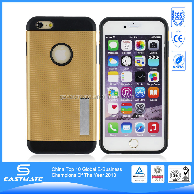 Hot Sale Kickstand Case For Iphone 6 Plus Wholesale Cell