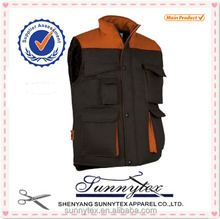 Made in China Clothes Winter Uniforms Construction Workwear Vest