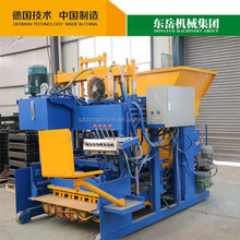 QTM10-15 automatic brick making machine price mobile concrete batching plant