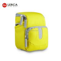 New Design Waterproof Camera bag Bright Yellow Color cute dslr camera bag Digital Camera Bag For DSLR SLR