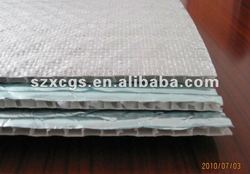 Laminated PE-film Alu foam insulation materials Coated aluminum foil with crosslinked insulation for heat projects