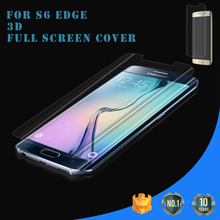 Prefect Full Size !! Japan Material Ultra Thin High Clear TPU screen protector for Samsung galaxy s6 Edge