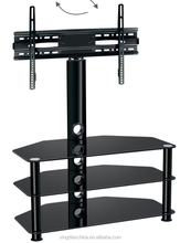 specific use ultra thin stainless steel tv stand