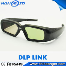 DLP-Link 3D Glasses active shutter 3D glasses for 3D Projector Benq/Optoma, Acer, Vivitek