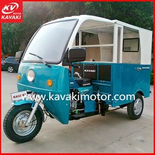 Semi Closed Adult Electric 3 Wheel Motorized Cargo Scooters / 3 Wheel Taxi for 6 Passengers