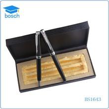 Promotional roller pen/metal ballpoint pen/diamond gift pen set