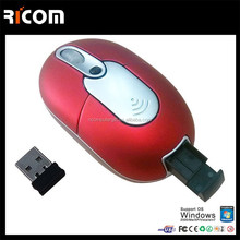 mini cordless mouse,Mini 2.4g mouse,mini 2.4ghz wireless mouse--Shenzhen Ricom