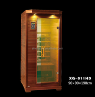 Luxury Low Price Ceramic Heating Far Infrared Dry Sauna Cabinet for Lossing weight (ISO/CE/TUV/FSC/RoHS)