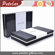 white &black clothing gift paper box packaging box