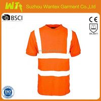 hi vis reflective t shirt comfortable safety working for man print safety tshirt in summer
