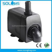 2015 New Model 2000 L/H 12v high flow rate industrial volume low pressure water pumps