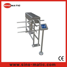 Paypal payment user friendly electric half height turnstile with delivery by sea