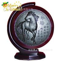 2015 special christmas gift China horse Artistic dark tea
